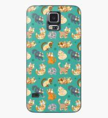 Funda/vinilo para Samsung Galaxy Whole Lotta Cat (Versión natural)