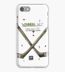 Winners get sprinkles iPhone Case/Skin