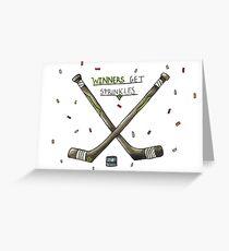 Winners get sprinkles Greeting Card