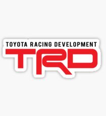 TRD : Toyota Racing Development Sticker