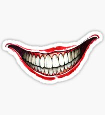 Bloody Smile Sticker