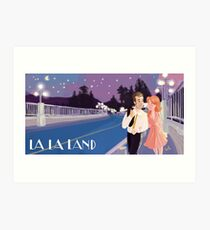 Lala Land Scene Art Print
