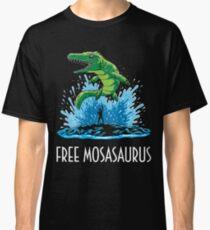Camiseta clásica Jurassic World Free Mosasaurus