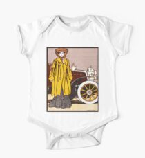 1903 Colliers magazine automobile number by Edward Penfield One Piece - Short Sleeve