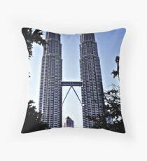 KLCC, Kuala Lumpur Throw Pillow