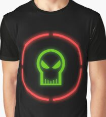 Red Ring Of Death Design Graphic T-Shirt