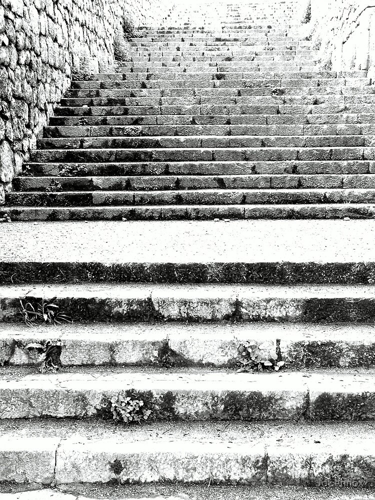 Steps At Arta by JoLennox