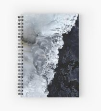 8.2.2017: Natural Ice and Wet Stone Spiral Notebook
