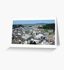 Salzburg, Austria  Greeting Card