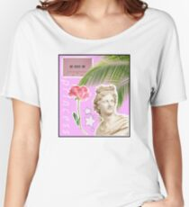 pink princess vaporwave aesthetic Women's Relaxed Fit T-Shirt