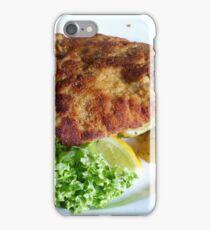 Wiener schnitzel iPhone Case/Skin