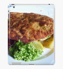 Wiener schnitzel iPad Case/Skin