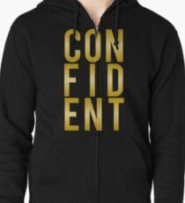 Confident Zipped Hoodie