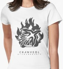 EXO - CHANYEOL Women's Fitted T-Shirt