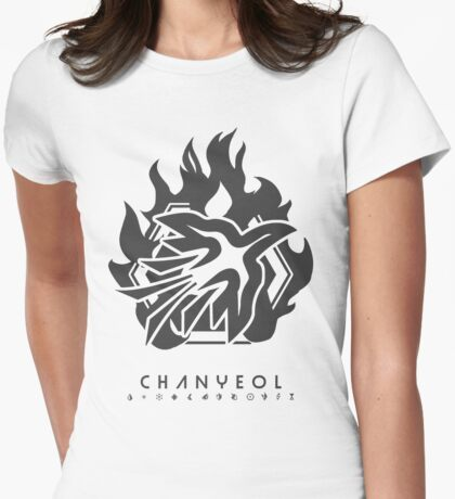 EXO - CHANYEOL Womens Fitted T-Shirt