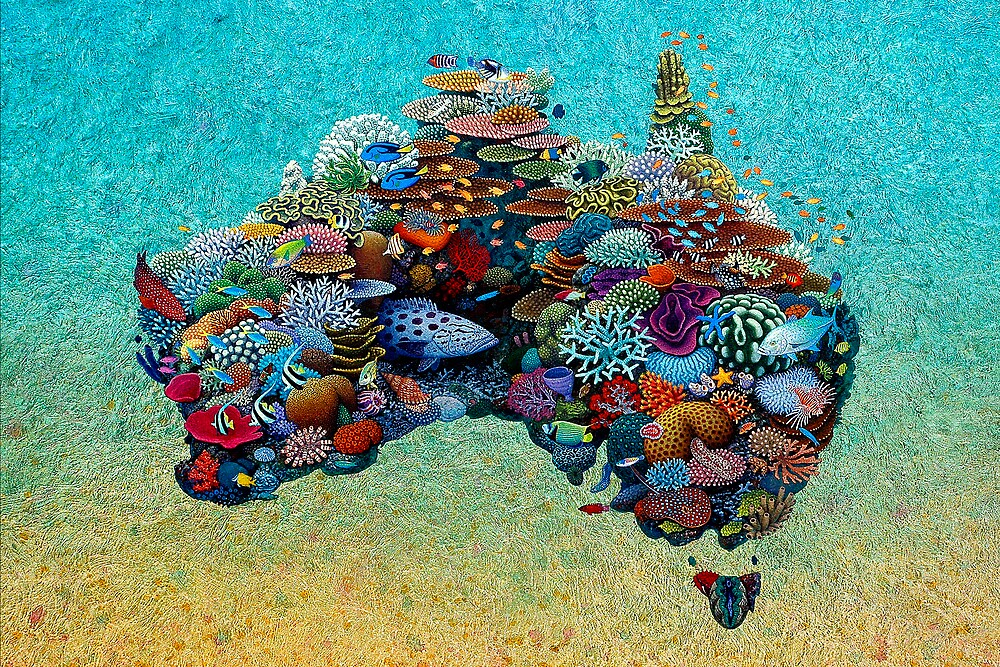 Australia Reef by Gavin Ryan