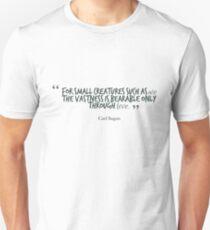 Carl Sagan Quote #4 T-Shirt