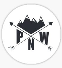 Pegatina PNW