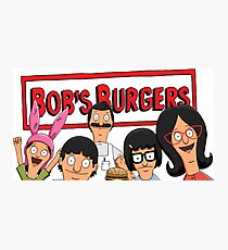 bobs burgers  Photographic Print