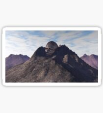 Mountain head Sticker