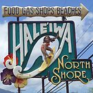 Hale'iwa North Shore Sign - WOMAN/PHOTO by northshoresign