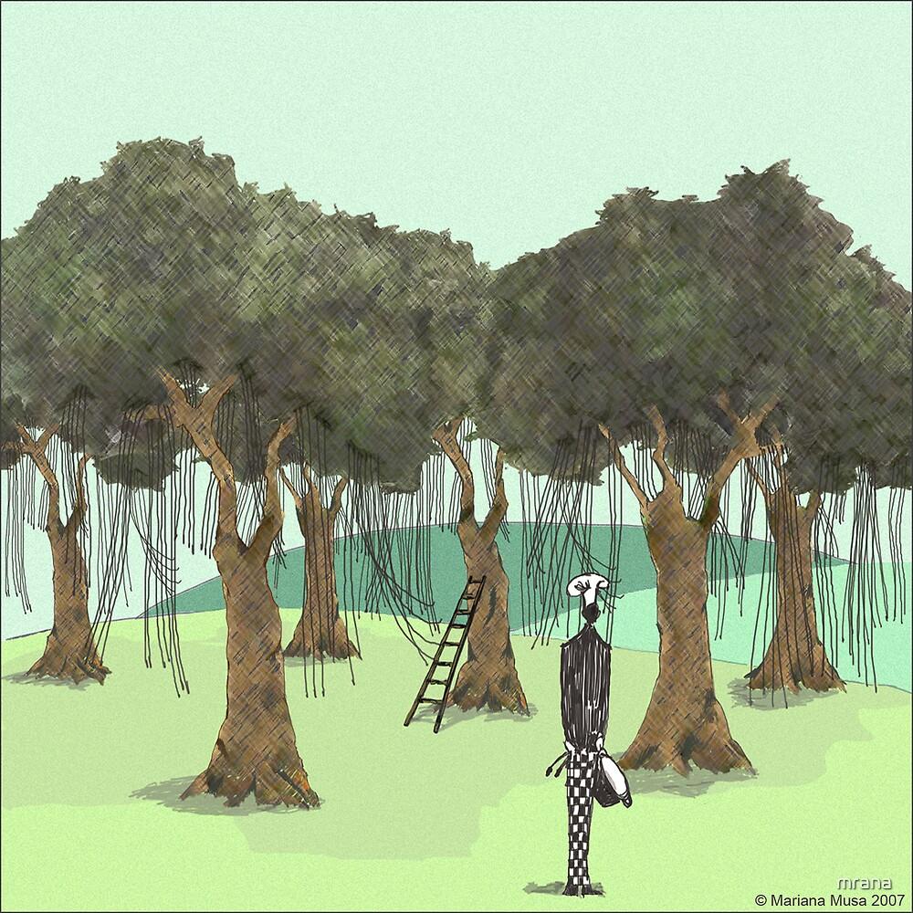 Spaghetti Trees by Mariana Musa
