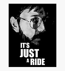 """Bill Hicks - """"It's Just a Ride"""" Photographic Print"""