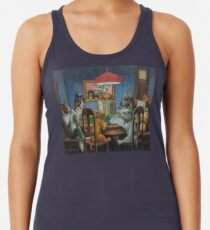 Dogs Playing D&D Women's Tank Top