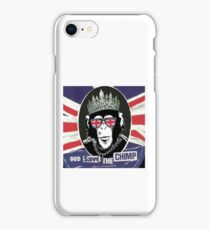God Save The CoolChimp iPhone Case/Skin