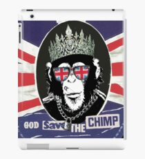 God Save The CoolChimp iPad Case/Skin