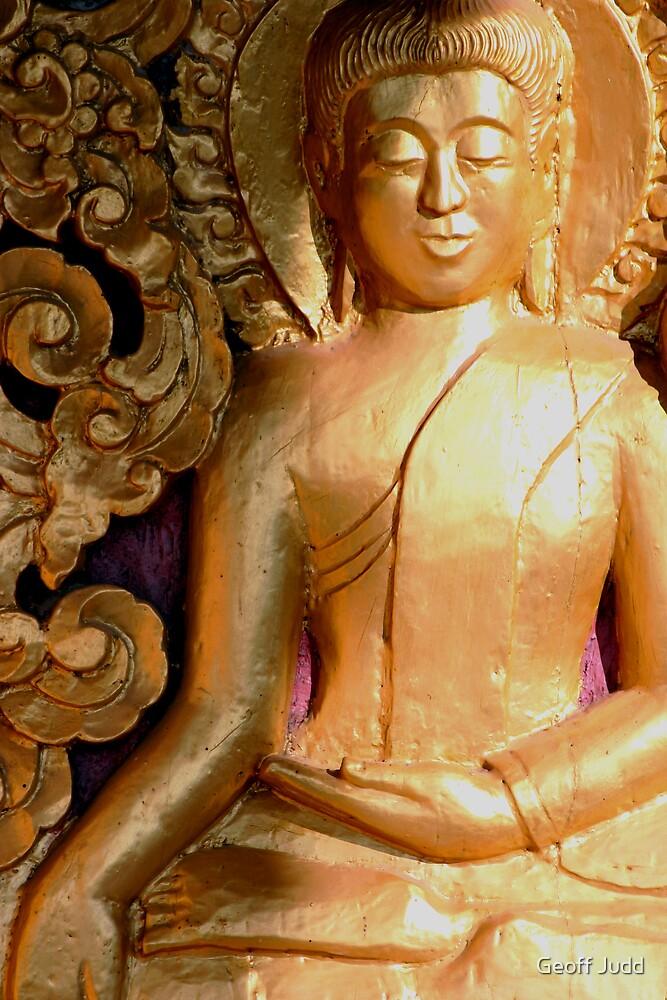 Wooden Buddha by Geoff Judd