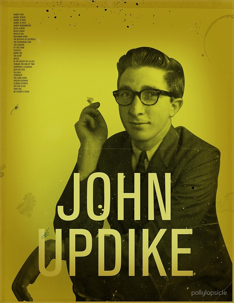 John Updike by pollylopsicle