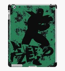 Zero 2 Hero iPad Case/Skin