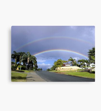 Rainbows Canvas Print