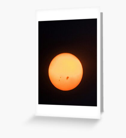 Sunspots Greeting Card