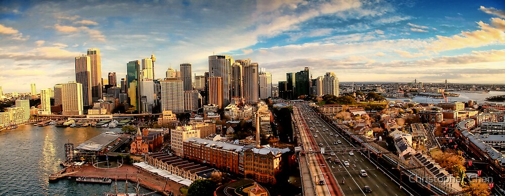 Sydney Panorama by Christopher Chan