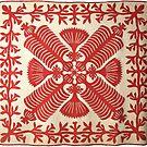 Queen Kapi'olani Fan Quilt by northshoresign