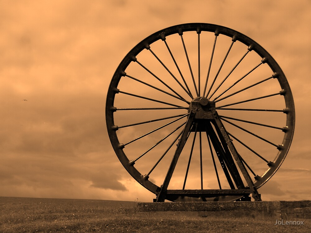 Mining Wheel by JoLennox