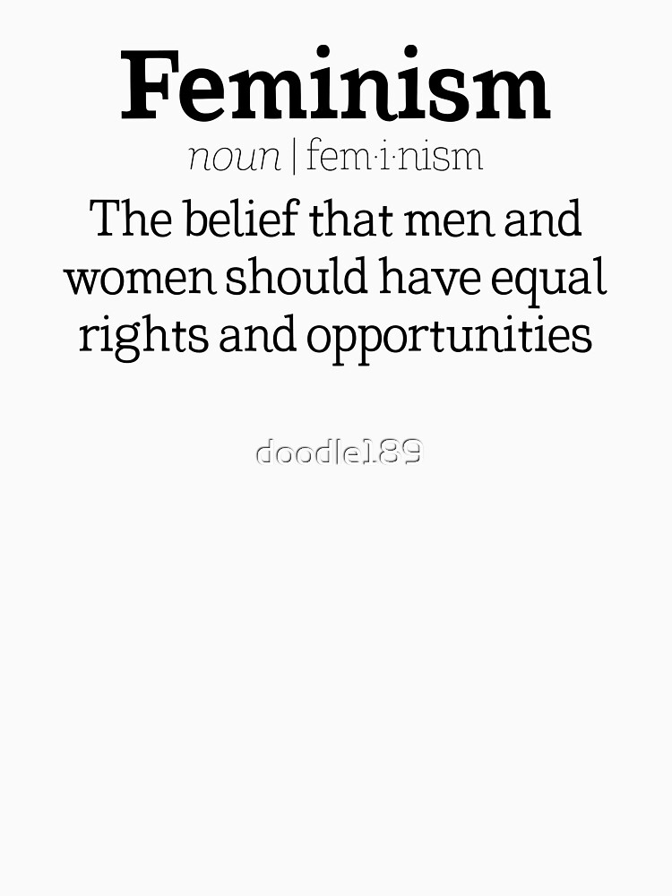 Feminism Definition By Doodle189