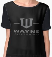 Wayne Enterprises Chiffon Top