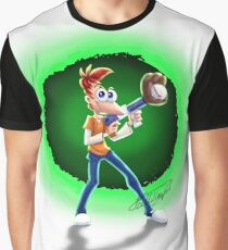Teen Phineas -Across The Second Dimension Again! Graphic T-Shirt