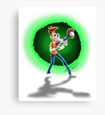 Teen Phineas -Across The Second Dimension Again! Canvas Print