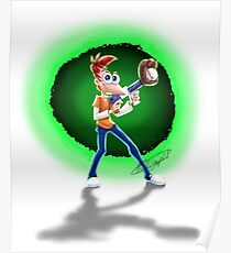 Teen Phineas -Across The Second Dimension Again! Poster