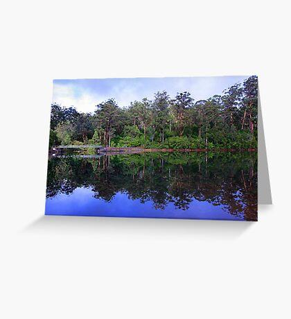 Big Brook Dam - Pemberton Western Australia Greeting Card