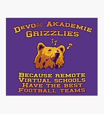 DeVo$$ Grizzlies Team Jersey Photographic Print