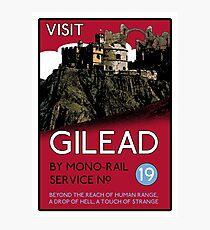 Visit Gilead (The Dark Tower) Photographic Print