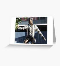 BOB ROSE - COLLINGWOOD FOOTBALLER 1946-1955 Greeting Card