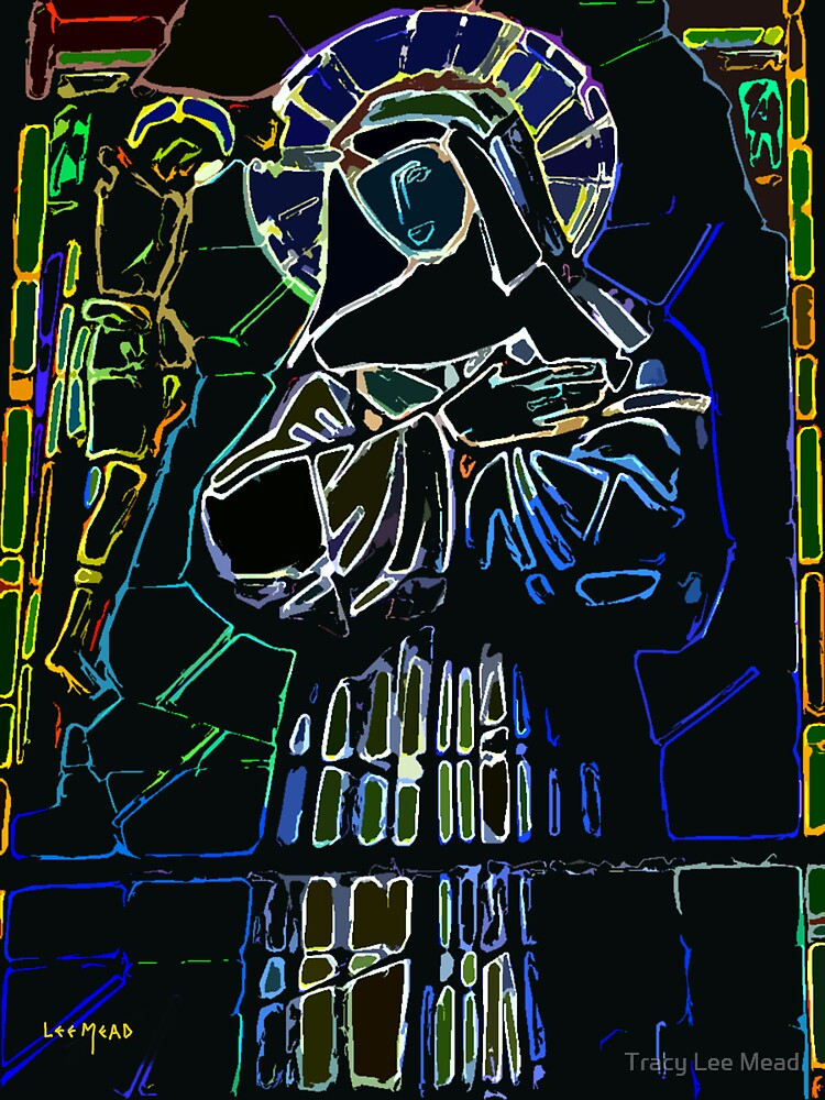 Christ and Madonna by Tracy Lee Mead