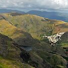 Vulcan low level in the Lakes by Gary Eason