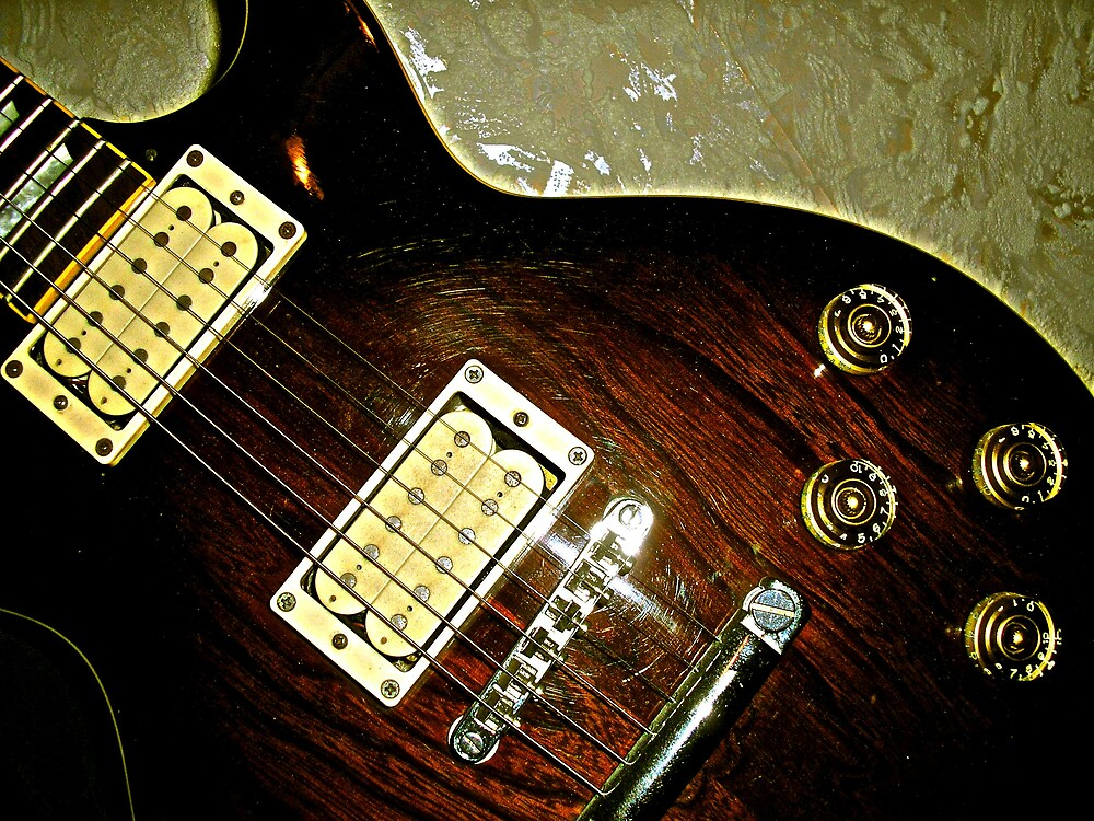 Solid Gold Gibson! by Maddie
